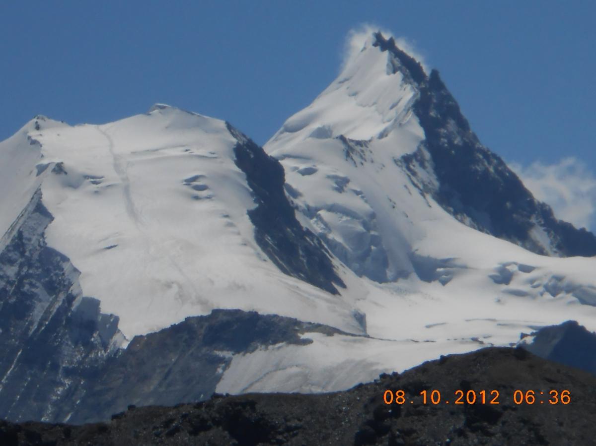 Haute Route near Matterhorn